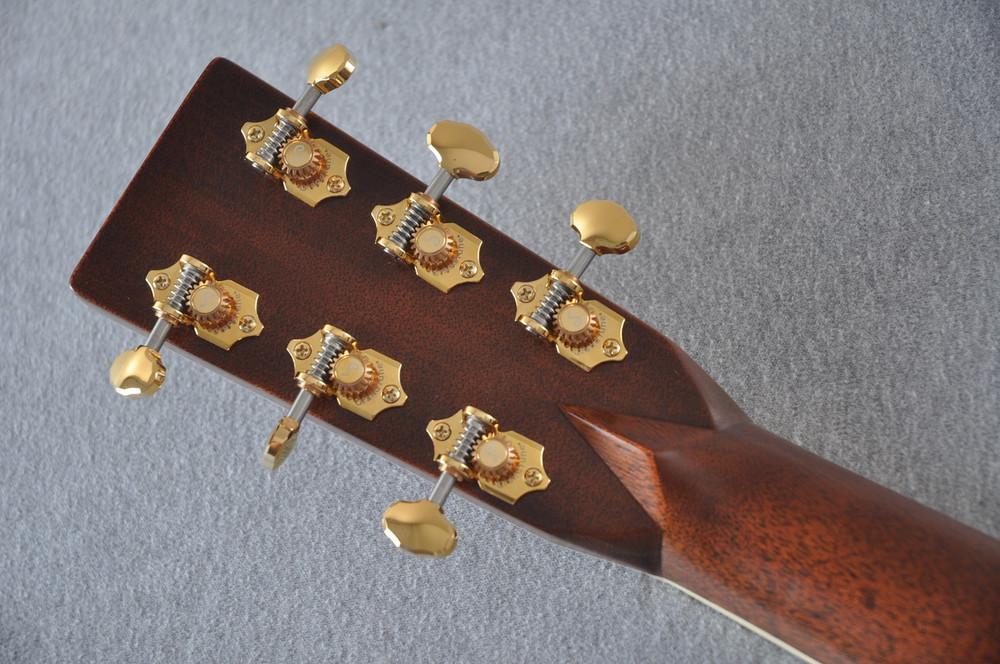 Martin D-41 (2018) Standard 1935 Sunburst Acoustic Guitar #2193531 - Back Headstock