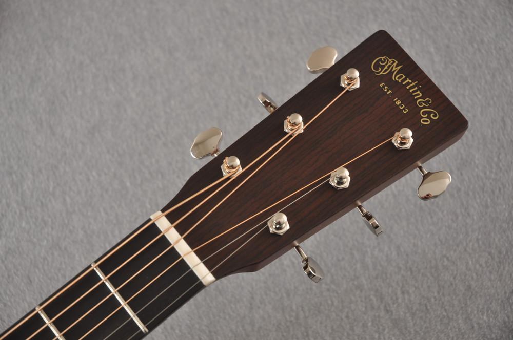 Martin 18 Style Custom Dreadnought Guitar Adirondack #2276231 - Headstock