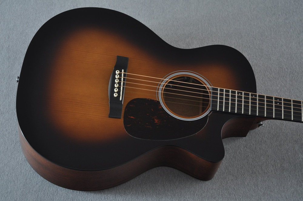 Martin Custom Shop GPCPA4 Adirondack Sunburst Fishman F1 Analog #2193583 - Top