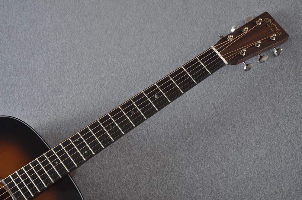 Martin Custom 18 Style Dreadnought Adi Sunburst Guitar #2193568 - Neck