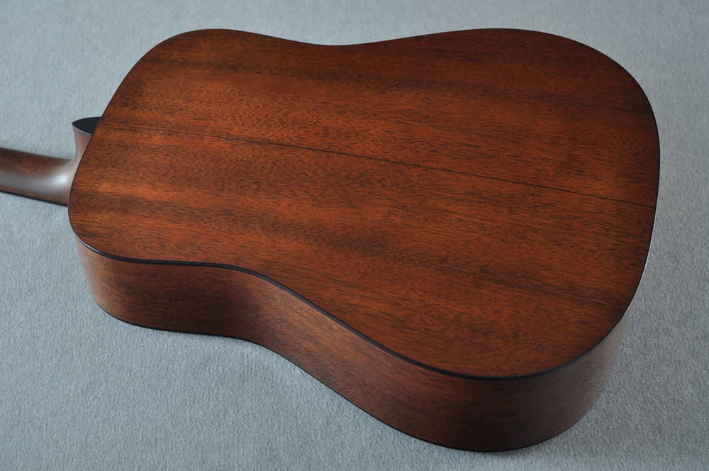 Martin Custom 18 Style Dreadnought Adi Sunburst Guitar #2193568 - Back Angle