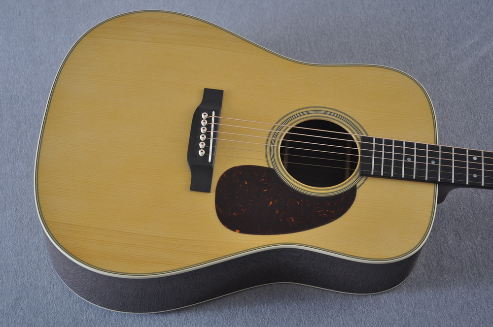 Martin Custom Shop D-28 Adirondack Acoustic Guitar #2202946 - Top