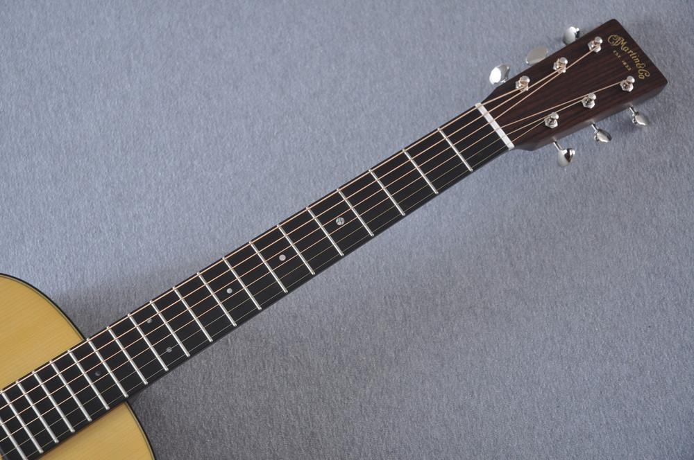 Martin Custom Shop 0-18 Adirondack Spruce Acoustic Guitar #2207085 - Neck
