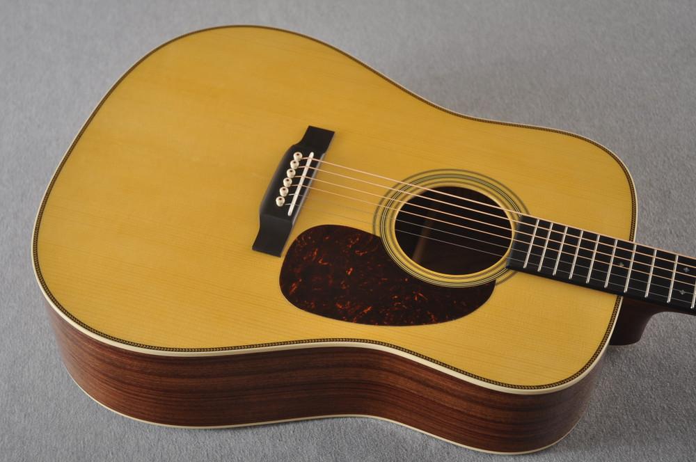 Martin Custom HD Style 28 Adi GE Wild Indian Rosewood #2305144 - TOp Angle