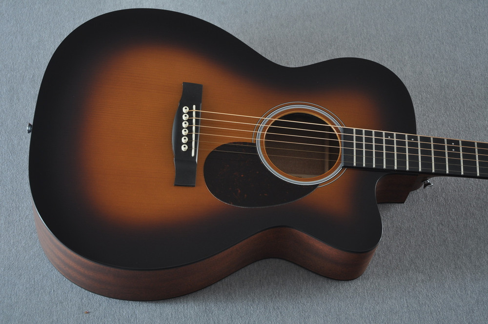 Martin Custom Shop OMCPA4 Adirondack 1935 Sunburst Fishman VT Enhance #2193589 - Top