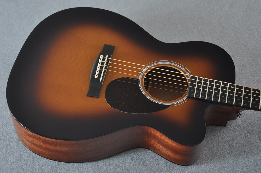 Martin Custom Shop OMCPA4 Adirondack 1935 Sunburst Fishman VT Enhance #2193589 - Top Angle