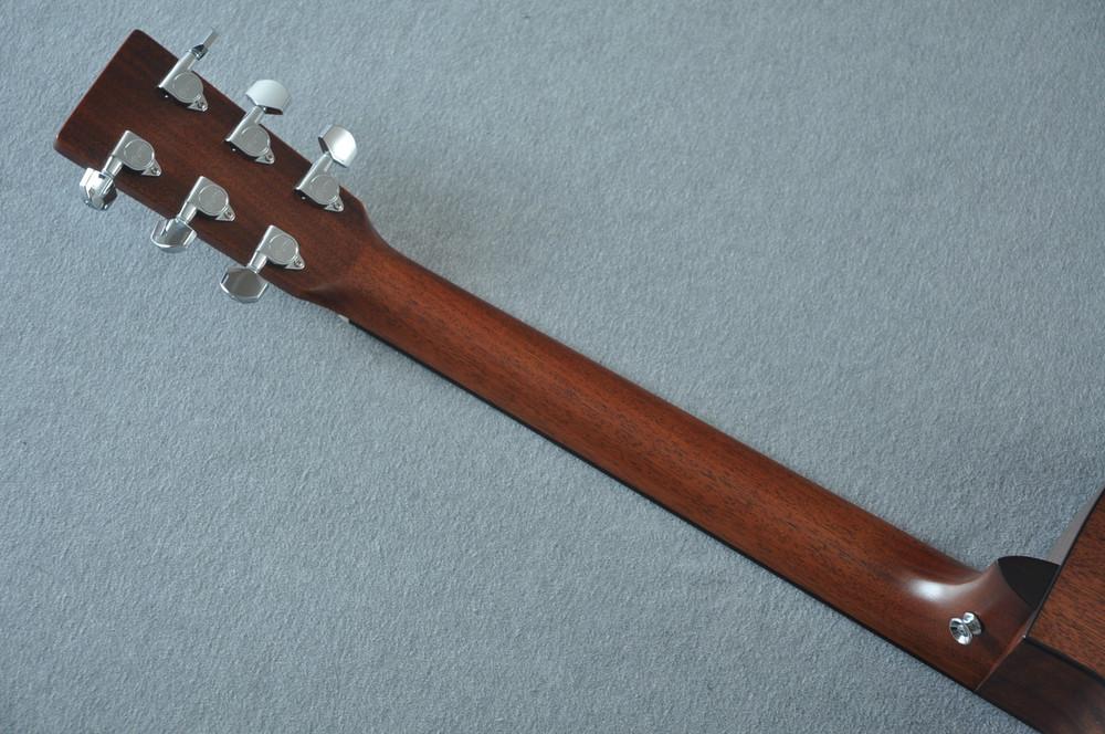 Martin Custom Shop DCPA4 Adirondack 1935 Sunburst Fishman F1 Analog #2193588 - Back Neck