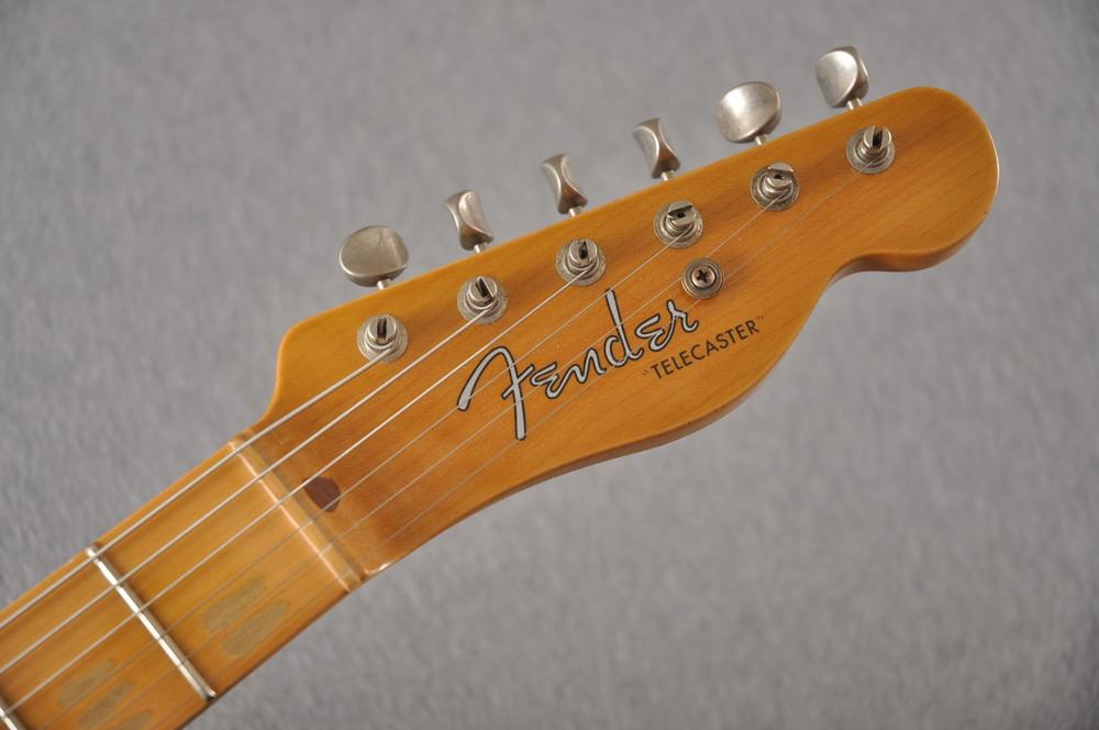Fender Custom Shop 1956 Telecaster Relic Sherwood Green NAMM - View 7