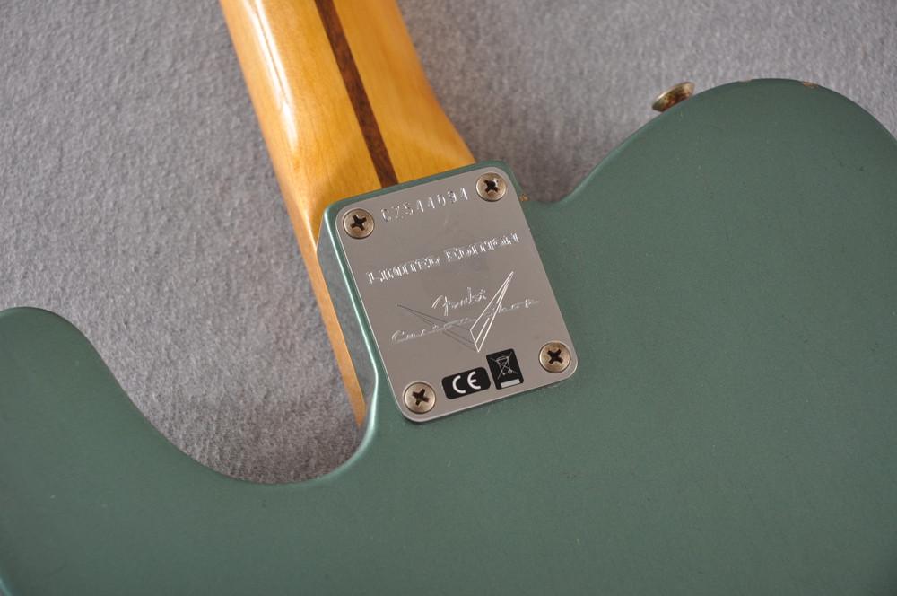Fender Custom Shop 1956 Telecaster Relic Sherwood Green NAMM - View 4