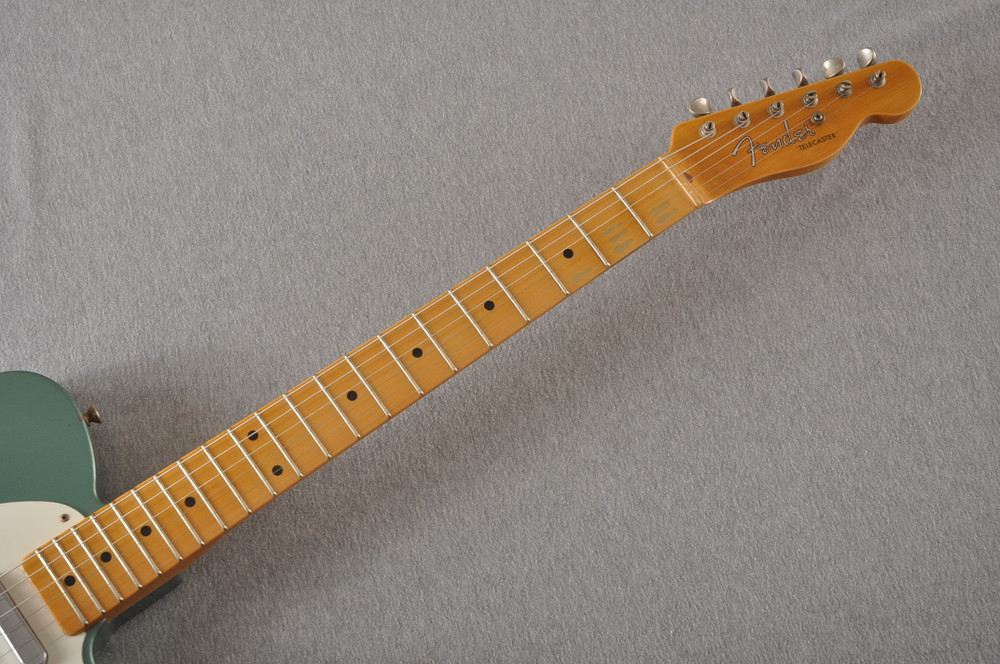 Fender Custom Shop 1956 Telecaster Relic Sherwood Green NAMM - View 10