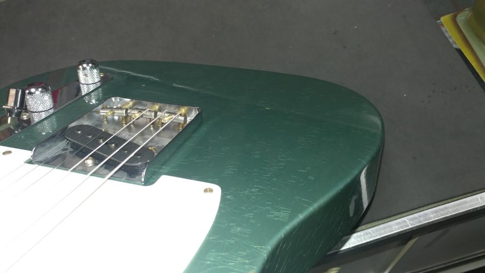 Fender Custom Shop 1956 Telecaster Relic Sherwood Green NAMM - View 8