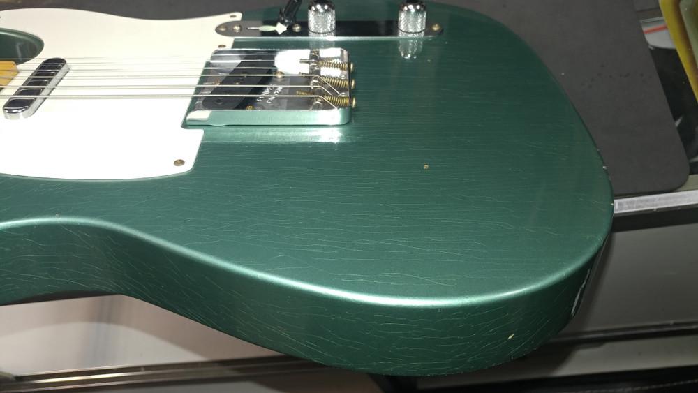 Fender Custom Shop 1956 Telecaster Relic Sherwood Green NAMM - View 11