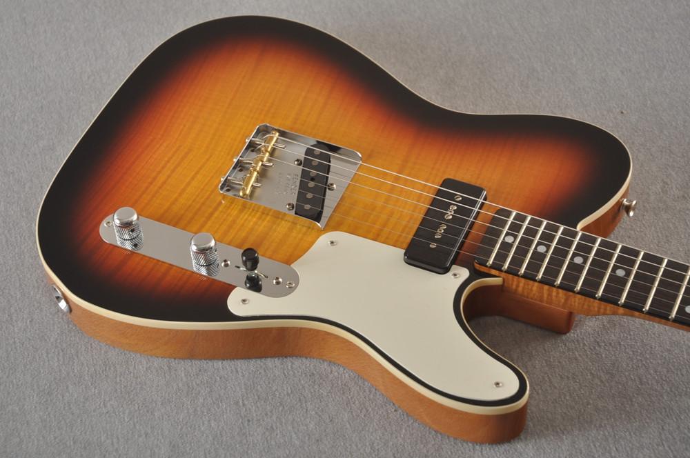 Fender Custom Shop Telecaster Flame Maple P90 Very Light 6.8 lbs - View 8