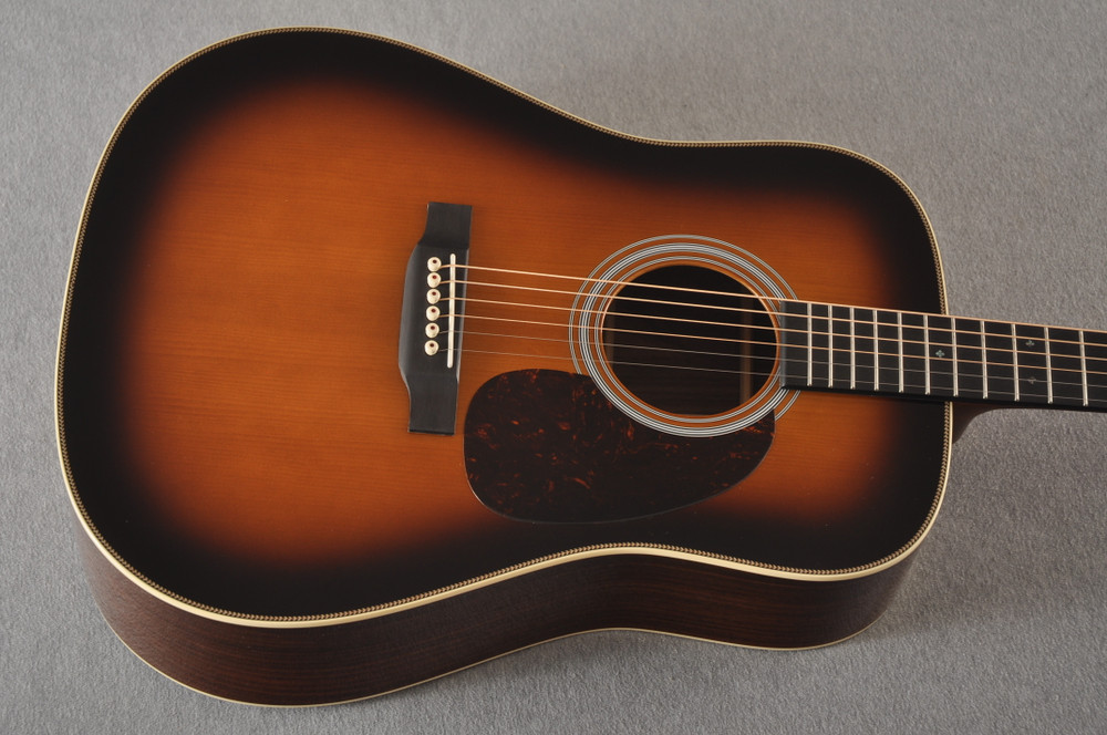Martin Custom HD Style 28 Adi Wild Indian Rosewood Burst #2305131 - Top