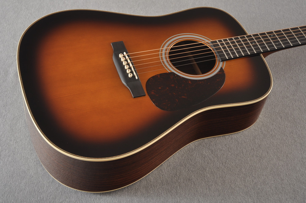 Martin Custom HD Style 28 Adi Wild Indian Rosewood Burst #2305131 - Beauty