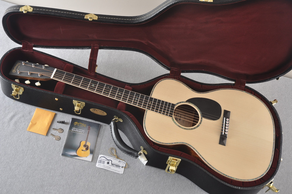Martin OMSS 2019 Orchestra Guitar - #3 Signed By Chris Martin - View 4
