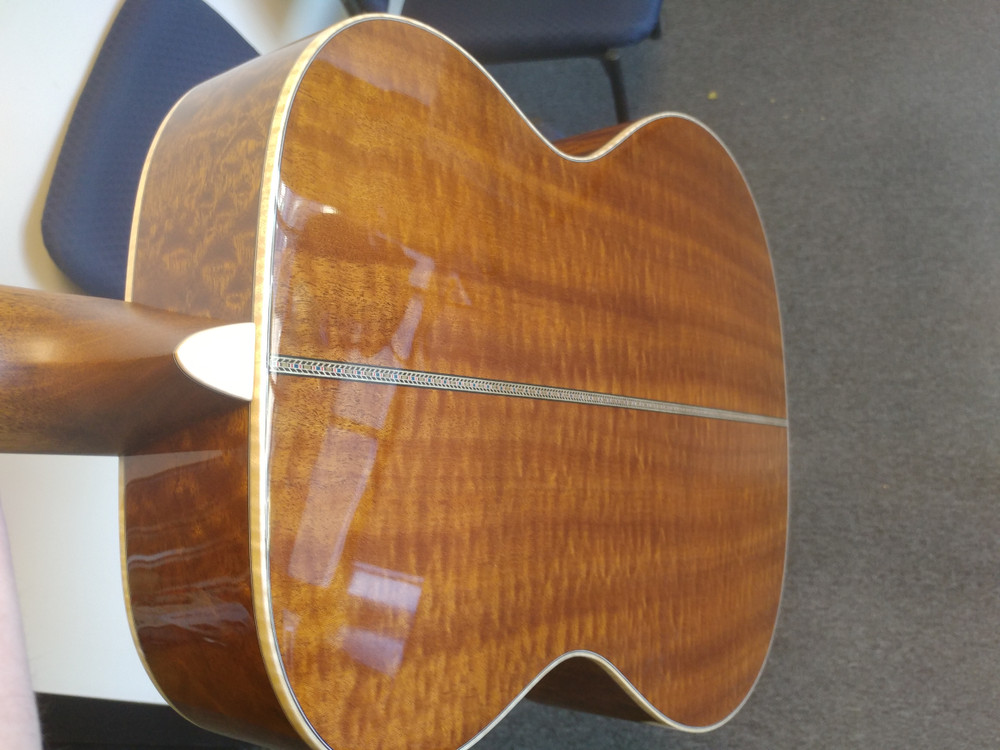 Martin OMSS 2019 Orchestra Guitar - #3 Signed By Chris Martin