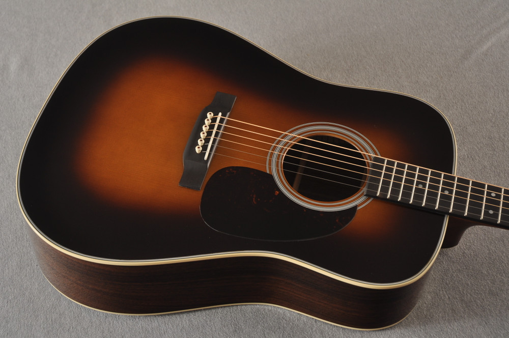Martin 28 Style Custom Dreadnought Adirondack Sunburst #2278814 - Top