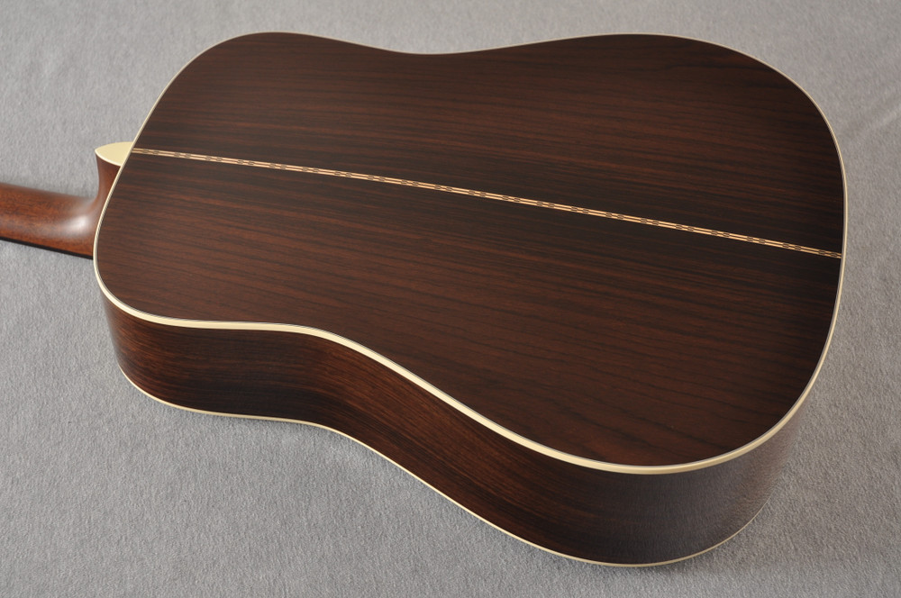 Martin 28 Style Custom Dreadnought Adirondack Sunburst #2278814 - Back Angle