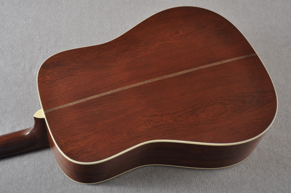 Martin D-28 Authentic 1937 VTS Dreadnought Guitar #2332789 - Back Angle