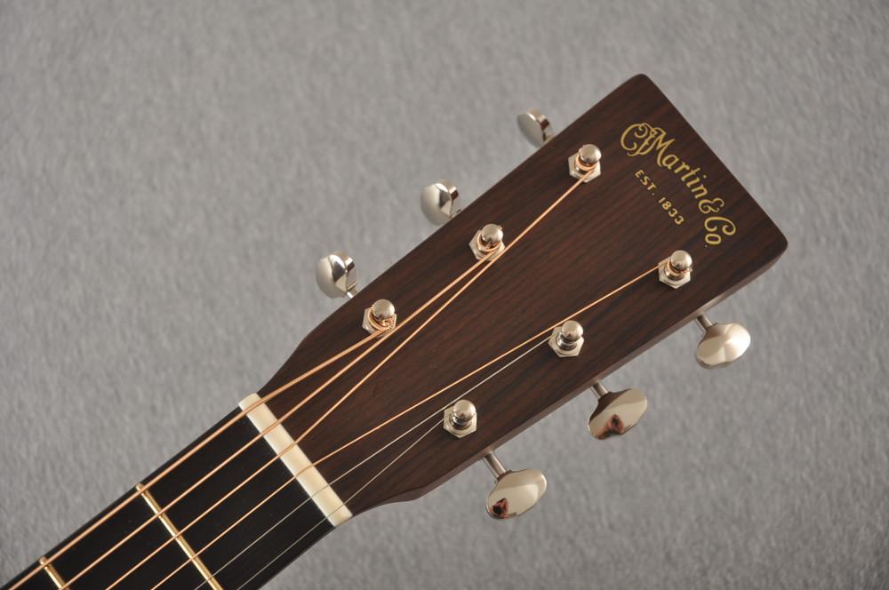 Martin Custom Dread Style 18 GE Adi Sinker Mahogany EVO #2305130 - Headstock