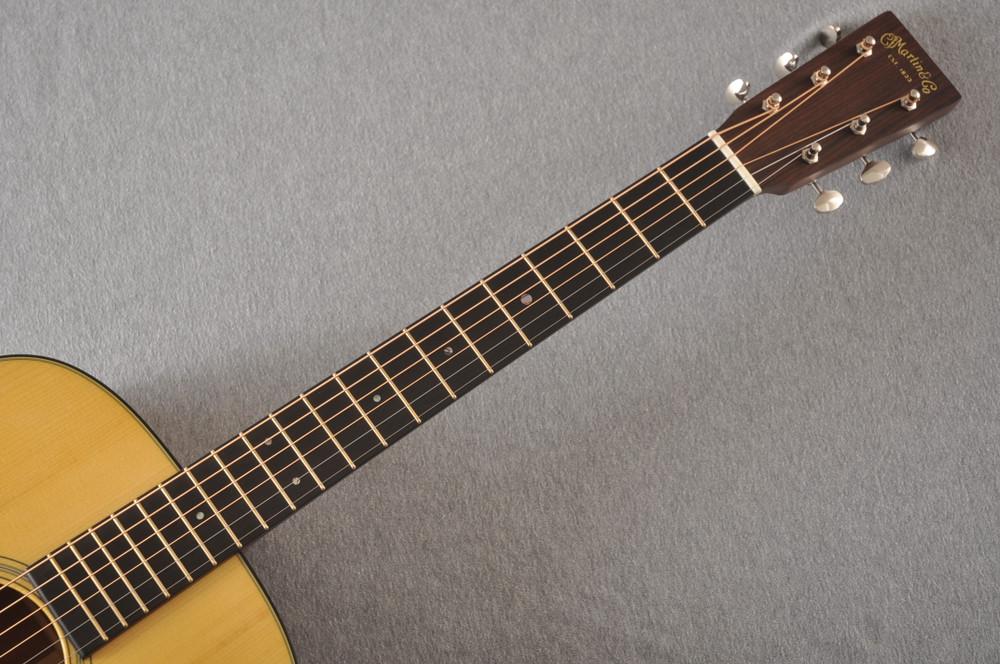 Martin Custom Dread Style 18 GE Adi Sinker Mahogany EVO #2305130 - Neck
