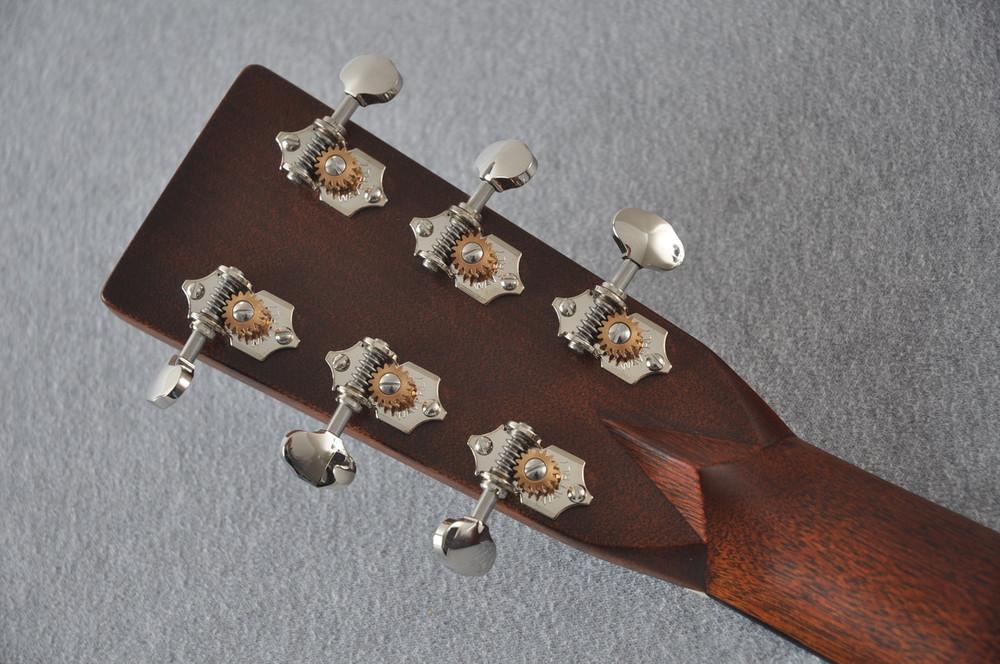 Martin Custom Shop D-28 Dark Indian Rosewood Acoustic Guitar #2210058 - Back Headstock