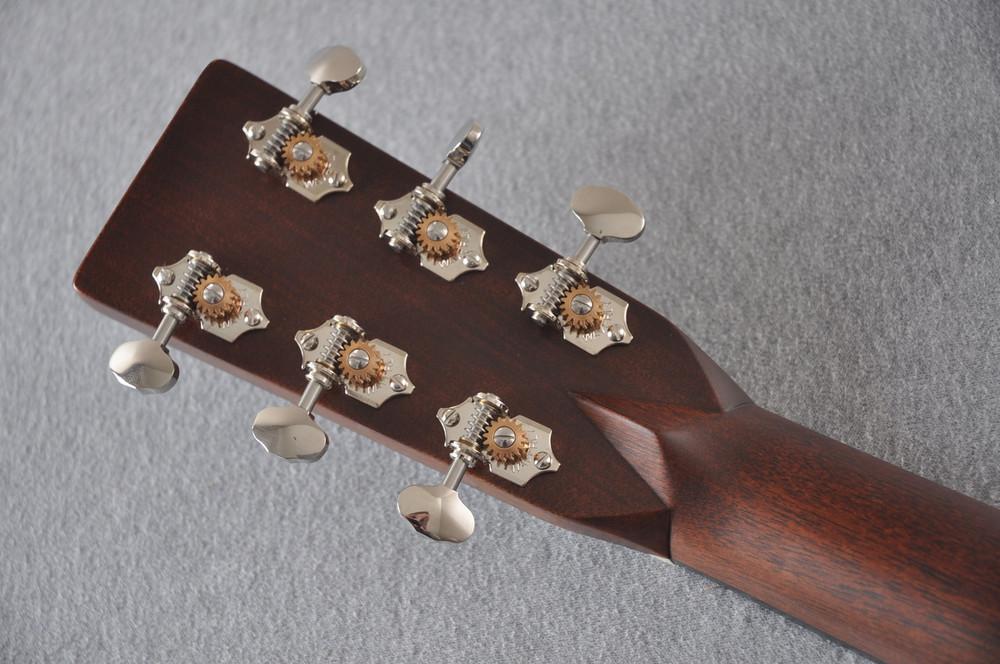 Martin Custom Shop D-28 Dark Indian Rosewood Acoustic Guitar #2210060 - Back Headstock