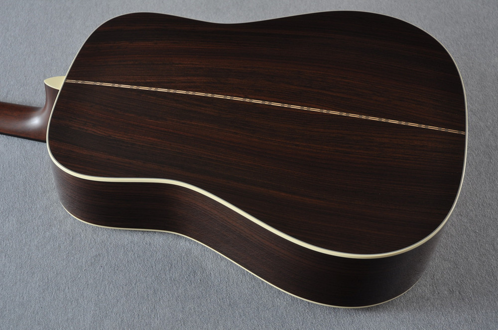 Martin Custom Shop D-28 Dark Indian Rosewood Acoustic Guitar #2210060 - Back