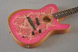 Fender American Acoustasonic Telecaster - Paisley - Made in USA