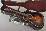 Martin Custom HD Style 28 Marquis Sunburst GE Adirondack #2372955 - Case