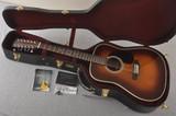 Martin Custom D12 12 String Style 28 Adirondack Ambertone #2371549 - Case