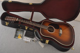Martin Custom D12 12 String Style 28 Adirondack Ambertone #2371550 - Case
