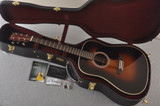 Martin Custom HD Dreadnought 28 Adirondack Sunburst #2388890 - Case