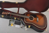 Martin Custom HD Dreadnought 28 Adirondack Ambertone #2388889 - Case