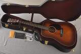 Martin Custom Dread Style 18 GE Adirondack Sinker Ambertone #2483245 - Case