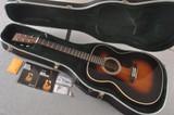 Martin 000-28 1935 Sunburst Acoustic Guitar #2493563 - Case