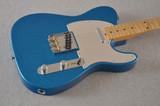 Fender J Mascis Telecaster Electric Guitar Blue Sparkle Road Worn