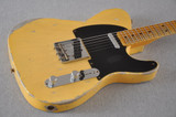Fender Ltd Edition 51 Telecaster Heavy Relic Aged Nocaster Blonde