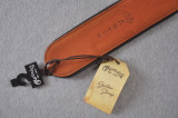 Martin Deluxe Guitar Strap - Brown Rolled Leather - 18A0028
