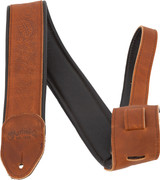 Martin Garment Leather Guitar Strap - Brown - 18A0088