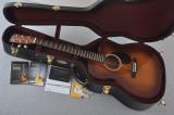 Martin Custom Shop OMCPA4 Adirondack Ambertone Fishman F1 Analog #2193582 - Case