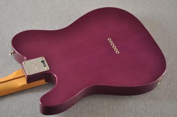 Fender Nocaster Custom Shop 51 NOS Trans Purple 7 lbs 9.5 oz - View 11