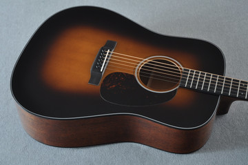 Martin D-18 Standard 1935 Sunburst Acoustic Guitar #2224781 - Top Angle
