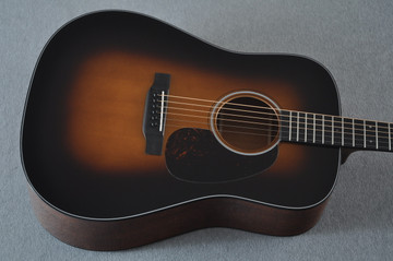 Martin D-18 Standard 1935 Sunburst Acoustic Guitar #2224781 - Top