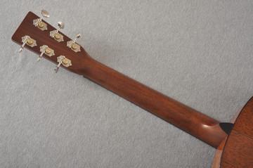 Martin Custom 12 Fret 000 Style 18 Adirondack Sunburst #2276260 - Back Neck