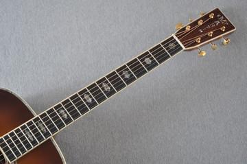 Martin D-41 Ambertone Standard Acoustic Guitar #2241863 - Neck