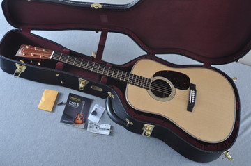 Martin D-28 Modern Deluxe Acoustic Guitar #2247801 - Case