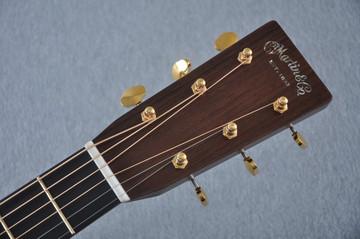 Martin OM-28 Modern Deluxe Acoustic Guitar #2246100 - Headstock