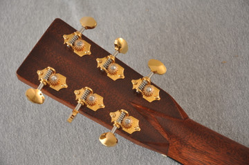 Martin 000-28 Modern Deluxe Acoustic Guitar #2276555 - Back Headstock